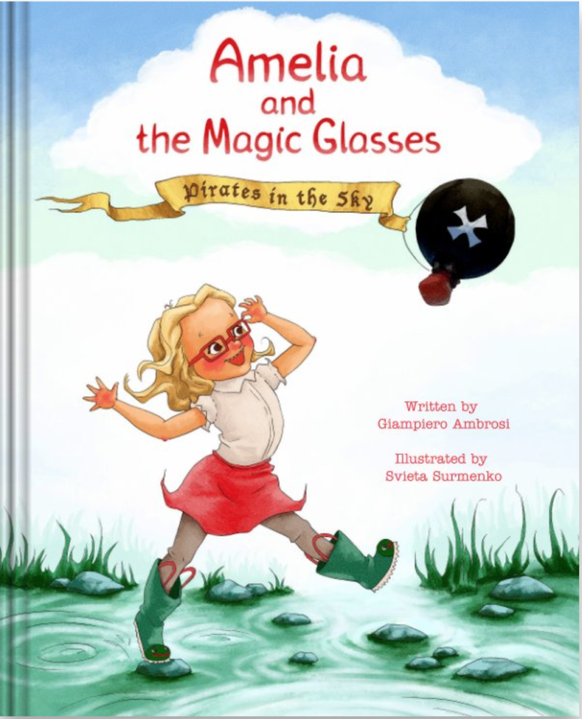 Amelia And the Magic Glasses. Pirates in the sky by Giampiero Ambrosi